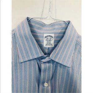 Brooks Brothers Regent Stripe Dress Shirt 16.5-34